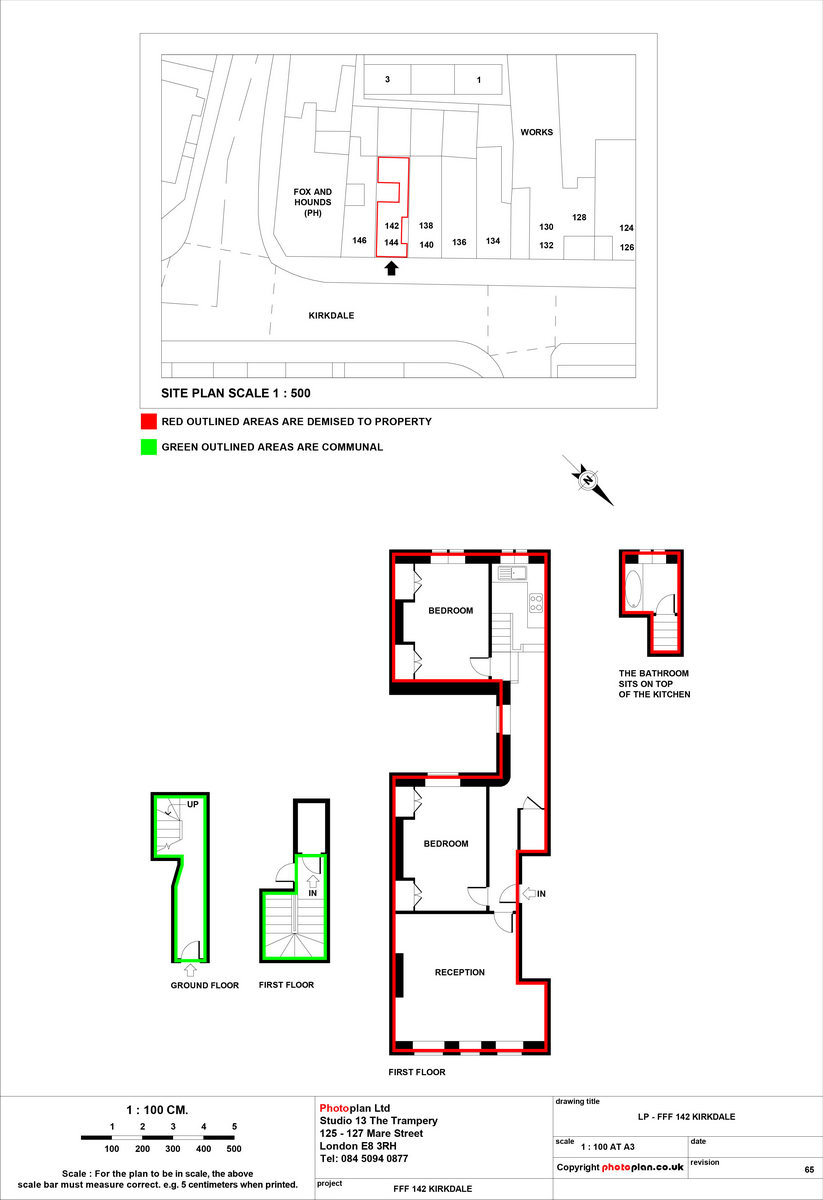Land registry lease plan pricing lease plans photoplan for Photo plan